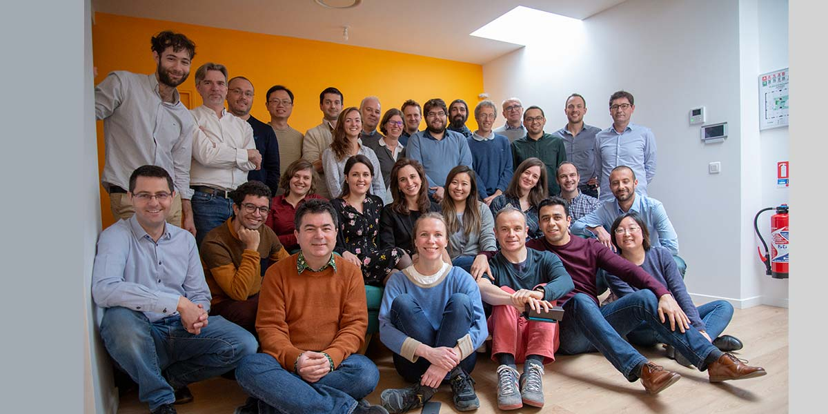 The entire DecisionBrain team in the Paris office